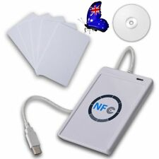 NFC Acr122u RFID Contactless Smart Reader & Writer/usb With 5xmifare IC Card a