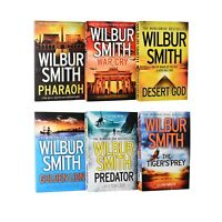 Wilbur Smith 6 Books Young Adult Collection Pack Paperback Set