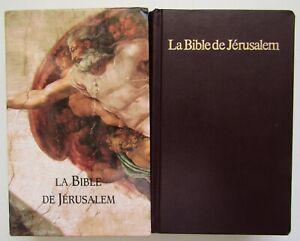 La Bible de Jérusalem - Traduction Ecole Biblique Jérusalem  - Sous Emboitage