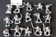 WARHAMMER Fantasy Orchi Figure in metallo x15 Games Workshop Classic 1980s JOB LOT