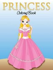 Princess Coloring Book for Girls (Paperback or Softback)