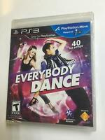 Everybody Dance disc Rated Teen Brand New sealed Playstation PS3 BRAND NEW