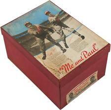 1935 Rice - Stix Shirts Display Box Paul Dean Dizzy Dean St Louis Cardinals