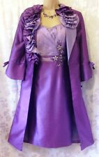 New - LIBRA (UK 12) rrp £500.00 Special Occasion Cocktail Dress & Coat /Wedding