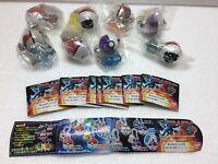 Bandai Pokemon Go Ball Monster gashapon mini Clear Figure Full Set of 8 Lucario