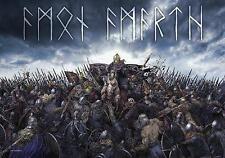 "Amon Amarth drapeau/drapeau ""Battlefield"" poster Flag Drapeau poster"