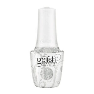 Gelish Gel Nail Polish - Shake Up The Magic Collection - Liquid Frost Silver