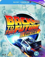 Back to the Future Trilogy 30th Anniversary 1 2 3 Blu-Ray Box Set NEW BONUS DISC