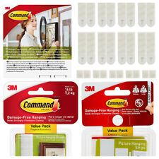 3M Command™ Picture Frame Hanging Strips Adhesive Stick on Strips S,M & L Strips