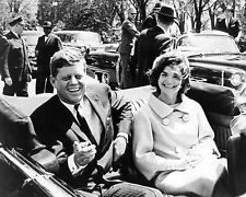 "John F Kennedy 10"" x 8"" Photograph no 3"