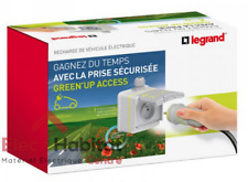 Prêt à poser GREEN'UP ACCESS station de recharge électrique Legrand 90476