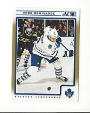 2012-13 Score Gold Rush #434 Mike Komisarek Maple Leafs
