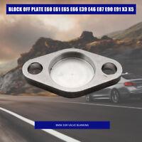 Válvula EGR BMW borrado bloquear placa E60 E61 E65 E66 E39 E46 E87 E90 E91 X3 X5