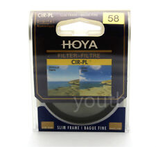 Hoya 58mm CPL CIR-PL Slim Circular Polarizing Digital Filter for Camera Lenses