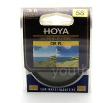 Hoya 58mm CPL CIR-PL Slim Circular Polarizing Digital Filter for Camera Lenses