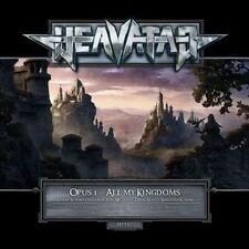 All My Kingdoms HEAVATAR CD ( FREE SH STRATOVARIUS , BLIND GUARDIAN MEMBERS