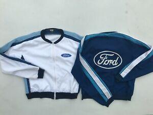 2x Rare 1970s 80s Vintage FORD Fox Racing Jackets Falcon XY XA XB XC XD XE GT GS