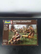 Vintage Revell British Infantry WW2 1/76