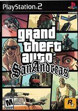 Grand Theft Auto San Andreas [PlayStation 2 Ps2 Gta Rockstar Sandbox Crime] New