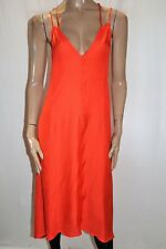 PICNIC Brand Amber Sleeveless V Neck Cross Back Soiree Dress Size 10 BNWT #TR48