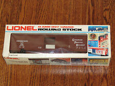 Lionel O Scale Vintage BLT 1-82 Canadian Pacific CP Reefer New in Box