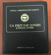 1986 Presidents U.S. First Day Covers in Binder Washington-Lbj Plus 65 More