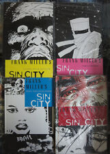 Sin City by Frank Miller German Hardcover Lot of 4 Vol. 4-7 Cross-Cult Comics