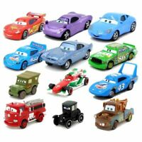 Disney Pixar Cars 3 2 Toys Lightning McQueen The King Holly Francesco Mater 1:55
