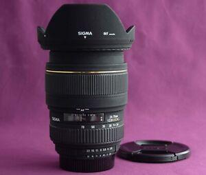 Sigma 24-70mm 1:2.8 EX DG Zoom lens for Nikon DSLR 2173D