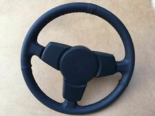 Porsche 924 944 Turbo 928 steering wheel 3 spoke reconditioned new Real leather