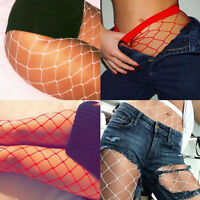 Women's Black Mesh Net Fishnet Bodystockings Pantyhose Tights Stockings Socks