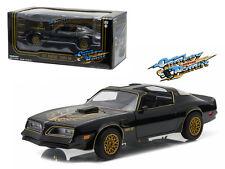 1977 Pontiac Trans Am Black Smokey and the Bandit Movie 1/24 Diecast Model Car