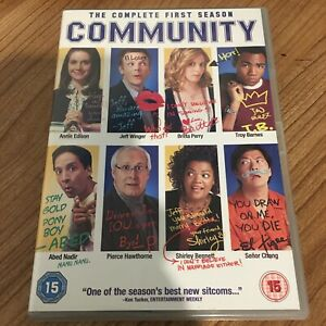 Community The Complete First Season DVD (2011) Chevy Chase Cert 15 Region 2 UK