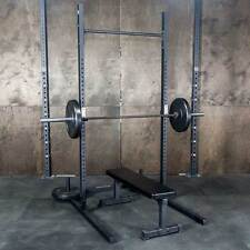 Commercial Squat Rack w/ Pullup Bar / 1,000lb Weight Capacity / Weight Lifting