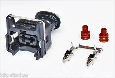 AMP Junior Power Timer JPT Steckverbinder 2 polig  Stecker VW Set Buchsengehäuse