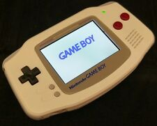 Gameboy Advance GBA AGS-101-DMG Rétroéclairé Full Custom Game Boy Style Original