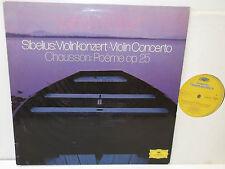 2538 302 Sibelius Violin Concerto Chausson Poeme op.25 Miriam Fried