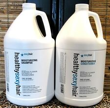 Healthy Sexy Hair Moisturizing Shampoo and Conditioner Gallon Set Duo 128 oz