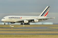 Huge Airbus A 380 AIR FRANCE  desktop model approx 47 cms long