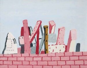 Philip Guston Untitled Canvas Print 16 x 20    #4122