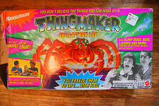Vintage Nickelodeon Thingmaker Chill A Tron Lab w/ 3 Molds and Beaker RARE
