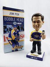 NEW !! Los Angeles Kings Jim Fox #19 Bobblehead NHL Legends Night Hockey