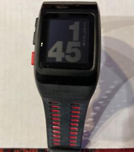 Nike +Plus Gps Sport watch Food Pod sensor Anthracite Red Tom Tom Fitness Runner
