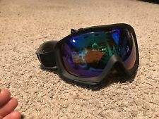 SCOTT Prophecy SKI GOOGLES Amber Lens With Blue Hugh Black Frame Double Lens