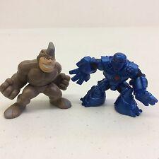 Marvel Super Hero Squad Iron Monger & Rhino Figures