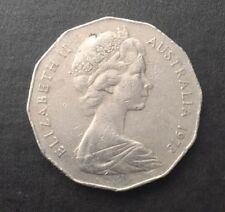 1973 AUSTRALIAN 50 CENT COIN - LOW MINTAGE