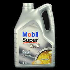 MOBIL Super 3000 formula F 5w-20 5l-Acea a1/b1, FORD wss-m2c948-b