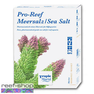 Tropic Marin PRO REEF Sea Salt Box Makes 32 Gallons Reef Aquarium Salt Mix