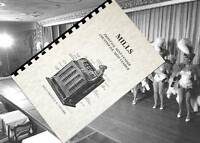 MILLS Bell Mint OK FRONT VENDER Slot Machine Owners Operator service MANUAL