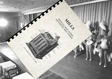 MILLS Bell Mint OK FRONT VENDER Slot Machine Owners Operation and Service MANUAL